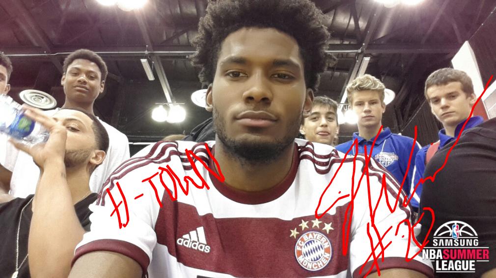 Justise Winslow signed selfie