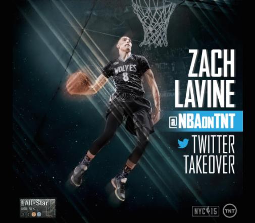 Zach LaVine Twitter Takeover