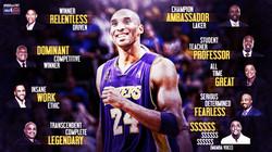 Three words to describe Kobe