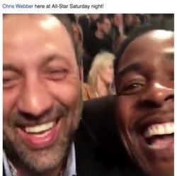 C-Webb at All-Star Saturday Night