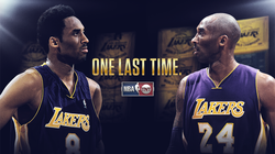Kobe last game specialty graphic