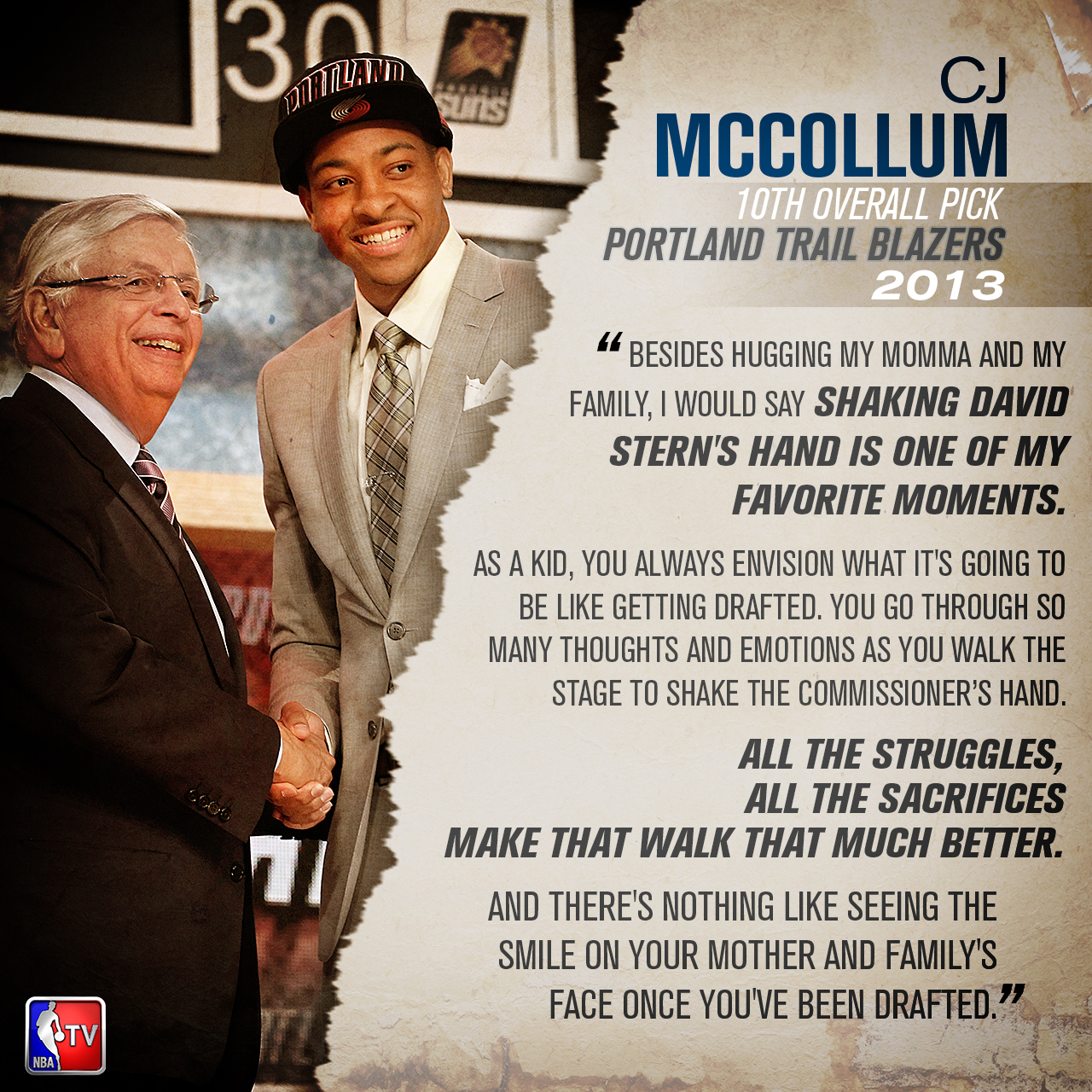 CJ McCollum - #DraftMemory