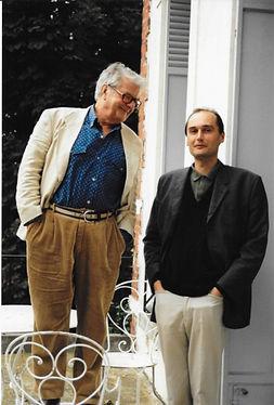 Jacques Perry avec leDesgrandchamp.jpegpeintre Marc Desgrandchamp