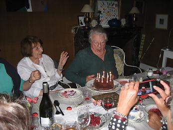 Jacques Perry, dîner d'anniversaire