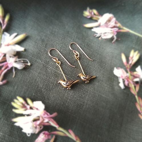 'Malleefowl' Earrings