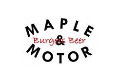 Maple and Motor burger restaurant Dallas