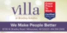 Villa at Bradley Estates Banner (reduced