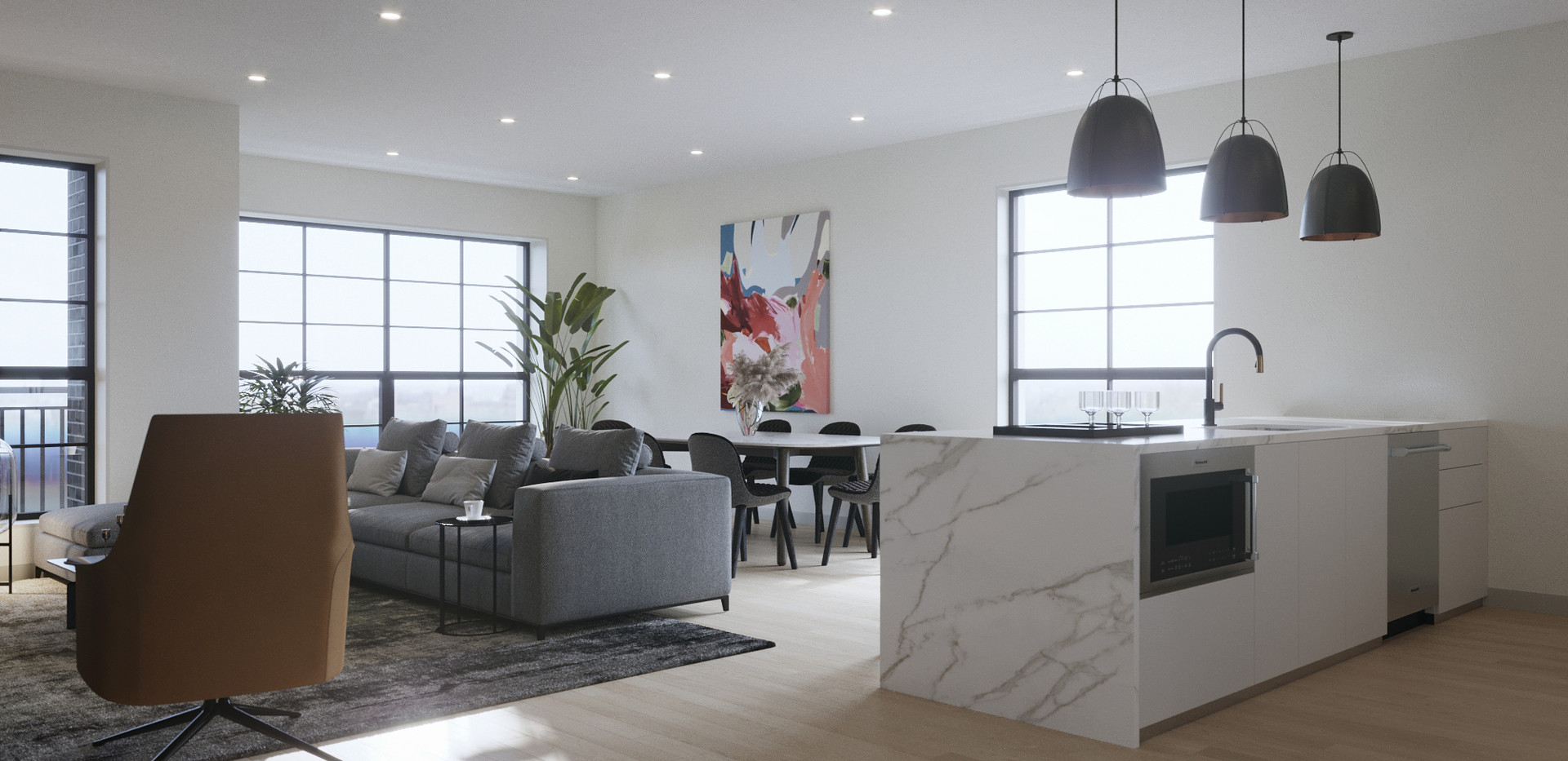 Simplex Living and Dining Room