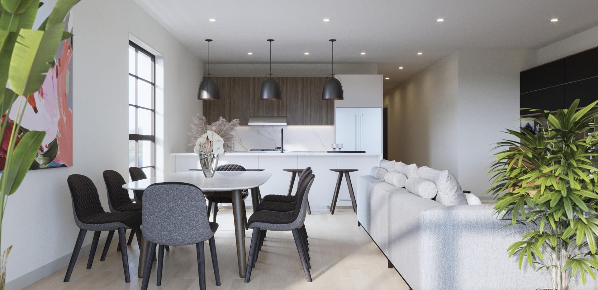 Simplex Dining Room & Kitchen
