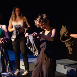 A Wake In Progress Presented by Fine Mess Theatre and Leila Sykes