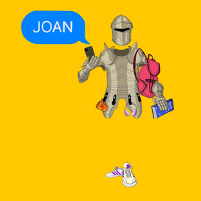 JOAN presented by by Cressida Peever