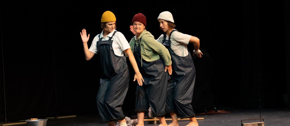 A Clown Show About Rain Presented by Silent Faces