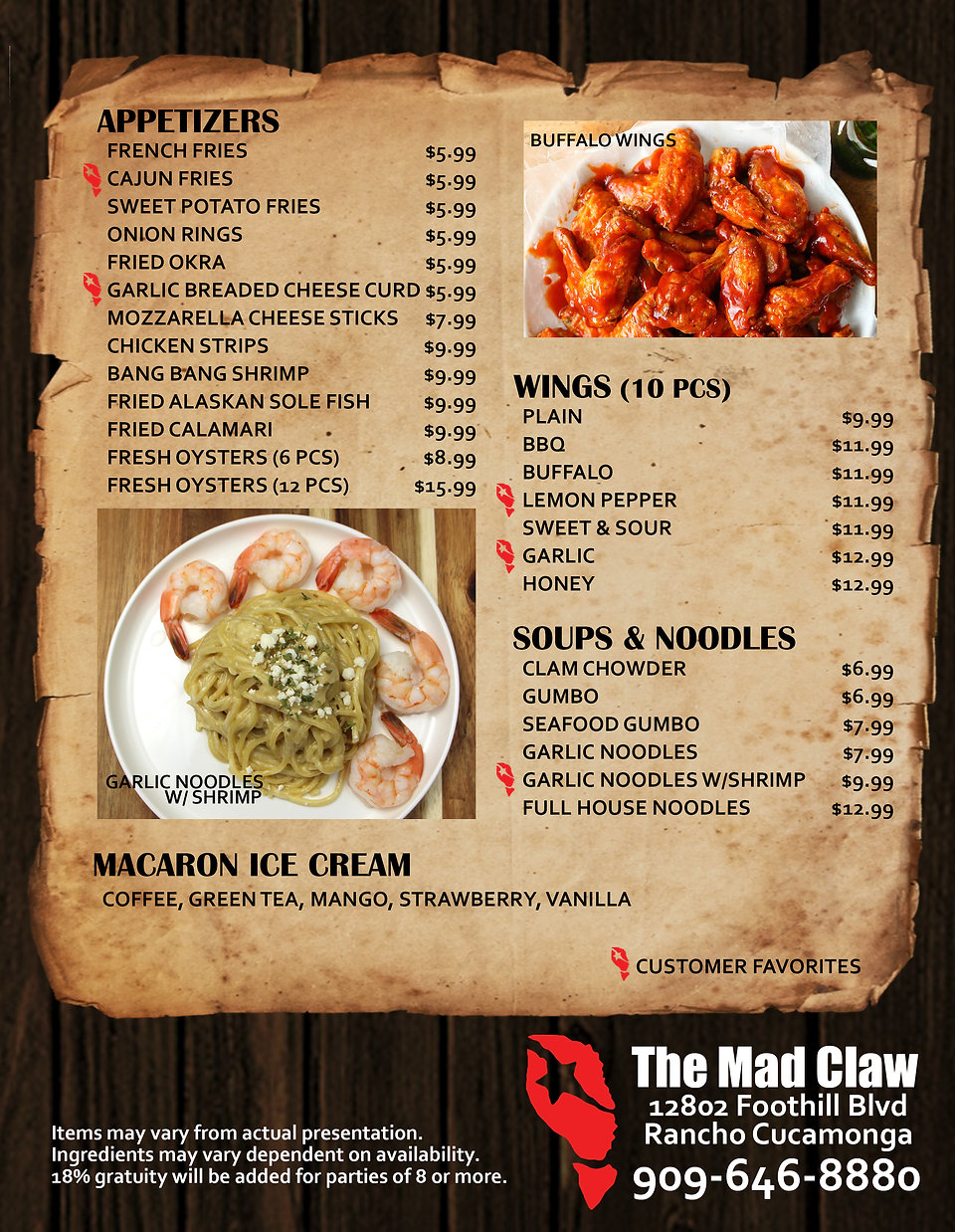 THE MAD CLAW MENU BACK PRINT 07 24 20.jp