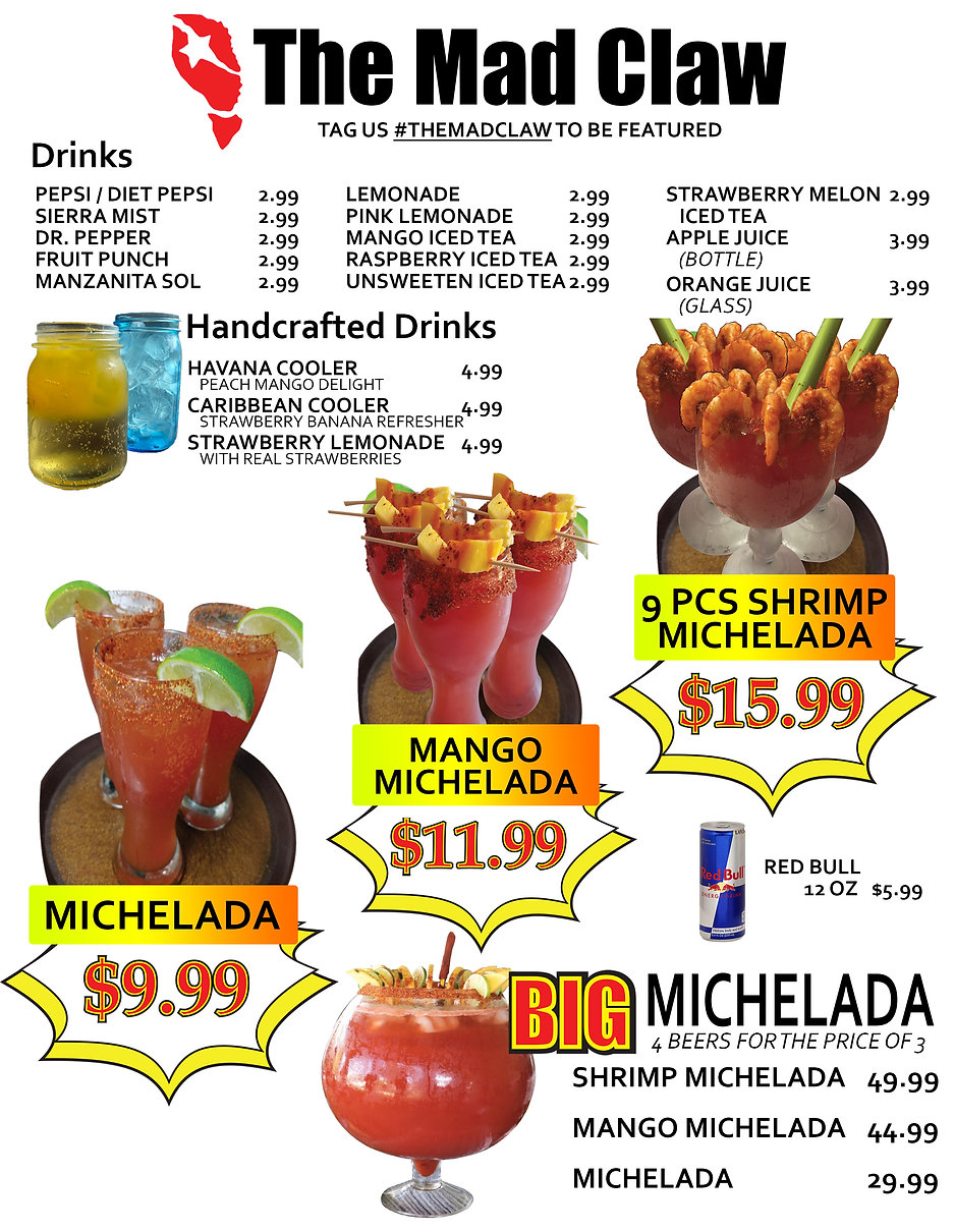 THE MAD CLAW DRINK MENU 08 04 21 FRONT.jpg