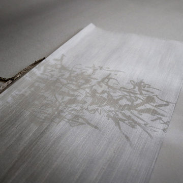 white drawing
