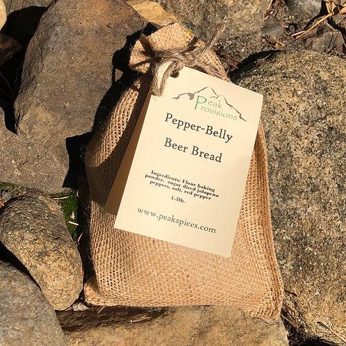 Pepper-Belly Beer Bread