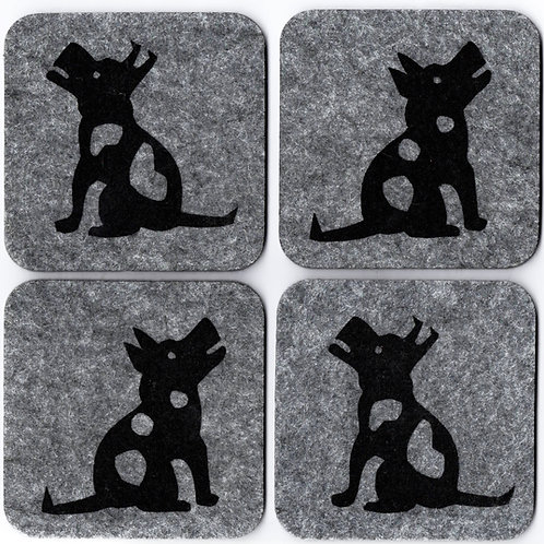 Barking Terrier - Coasters
