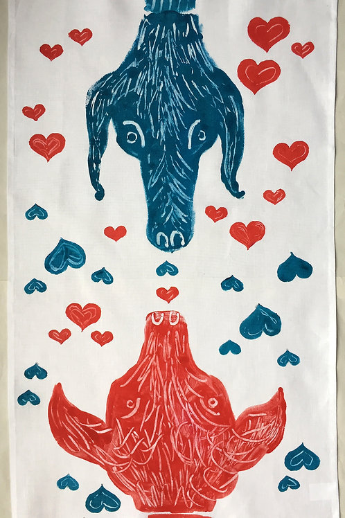 Love At First Sight Tea Towel