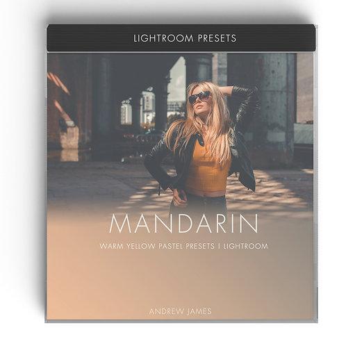 MANDARIN - Warm Yellow Pastel Presets for Adobe Lightroom