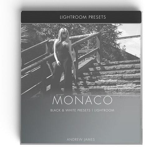 MONACO - Black & White Presets for Adobe Lightroom