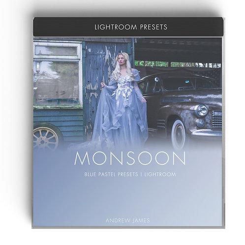 MONSOON - Blue Pastel Presets for Adobe Lightroom