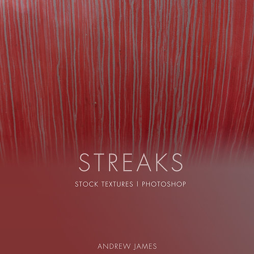 STREAKS - 50x Streaky Paint drops Stock Textures for Photoshop