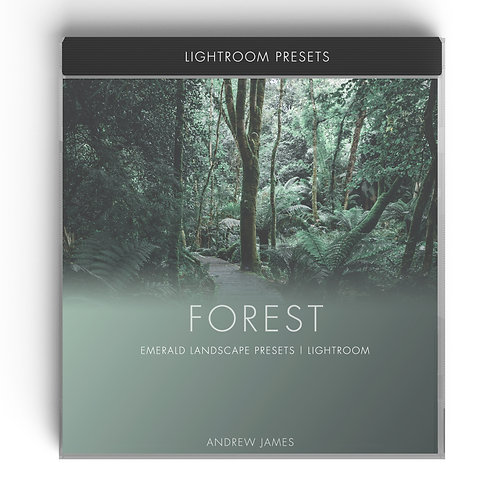 FOREST - Emerald Landscape Presets for Adobe Lightroom