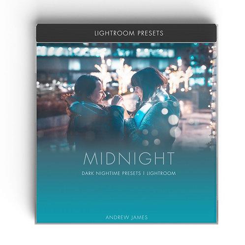 MIDNIGHT - Neon Night Time Lightroom Presets