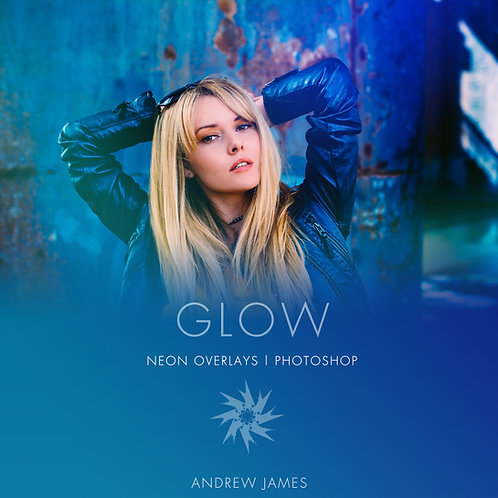 GLOW - Neon Overlays for Photoshop