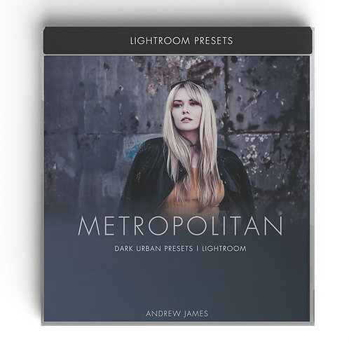 METROPOLITAN - Dark Urban Presets for Adobe Lightroom