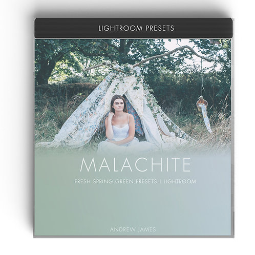 MALACHITE - Green Spring Inspired Presets for Adobe Lightroom
