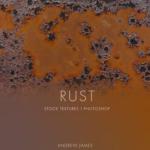 RUST - 50x Metal Rust Stock Textures for Adobe Photoshop