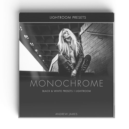 MONOCHROME - Black & White Lightroom Presets