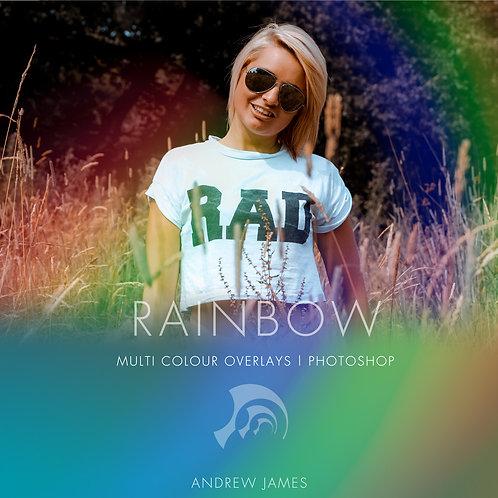 RAINBOW- Multicolour Overlays for Photoshop