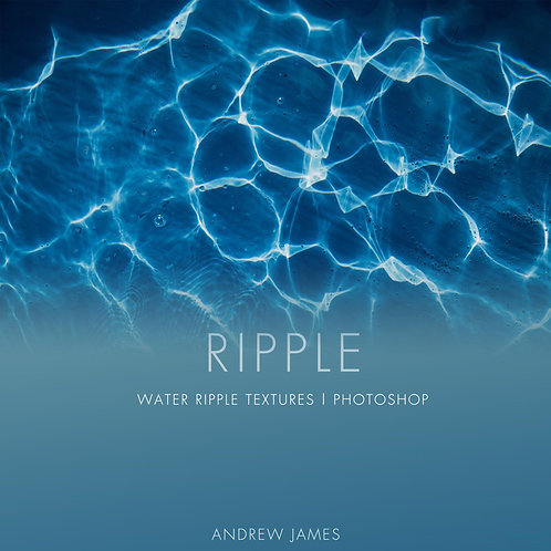 RIPPLE - 25x Water Ripple Stock Textures for Photoshop