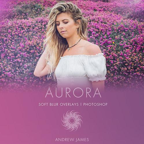 AURORA- Soft Blur Overlays for Photoshop