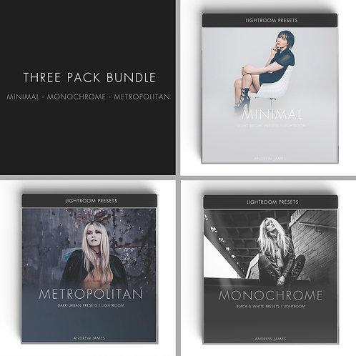 BLOGGER | 3 Pack Bundle - Minimal - Monochrome - Metropolitan
