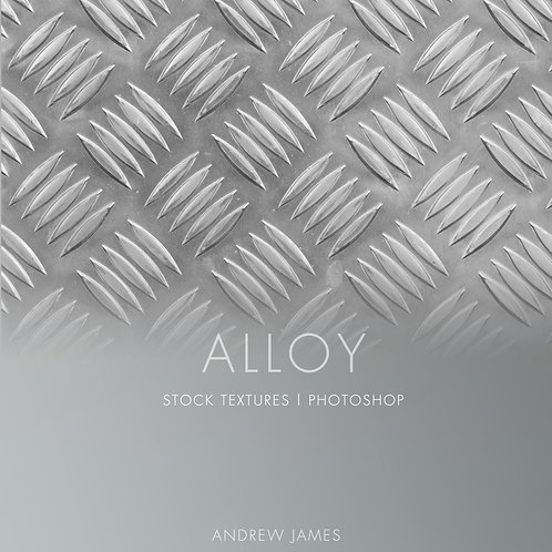 ALLOY - 30 JPEG Metal stock textures for Adobe Photoshop.