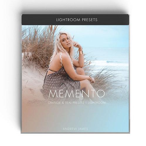 MEMENTO - Orange & Teal Lightroom Presets