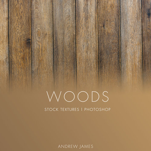 WOODS: Stock Textures for Photoshop