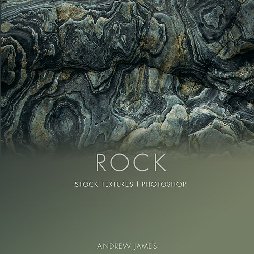 ROCK - 50x Coastal Rock and Stone Stock Textures for Photoshop