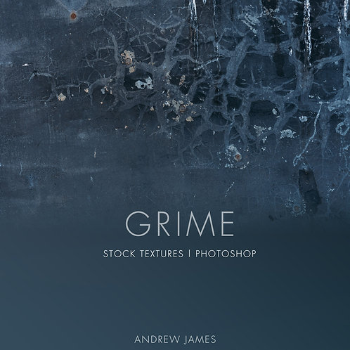 GRIME - 50x Grime and Grunge stock textures for Adobe Photoshop