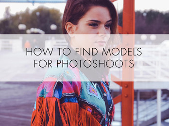 How to find models for photoshoots