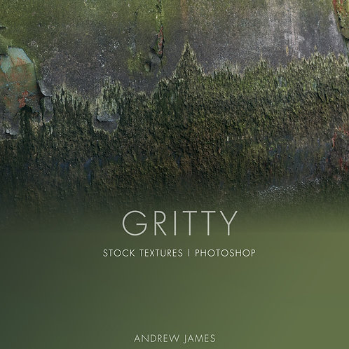 GRITTY - 50x Gritty and Grunge stock textures for Adobe Photoshop