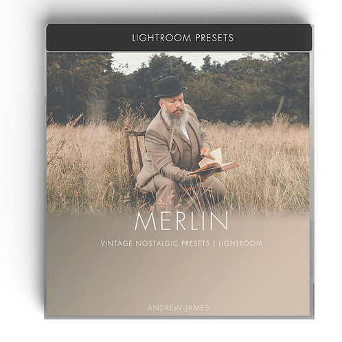 MERLIN - Vintage film inspired Presets for Adobe Lightroom