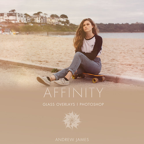 AFFINITY- Glass Overlays for Photoshop