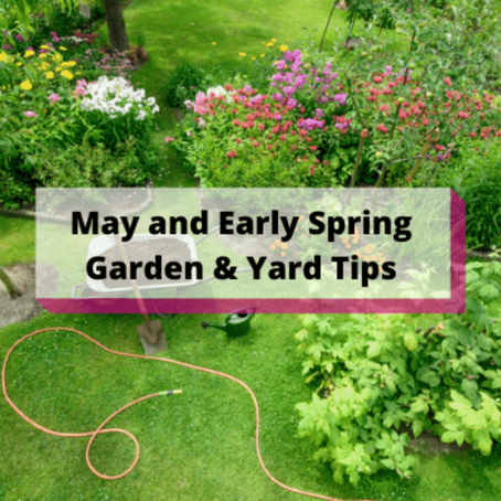 May and Early Spring Garden & Yard Tips