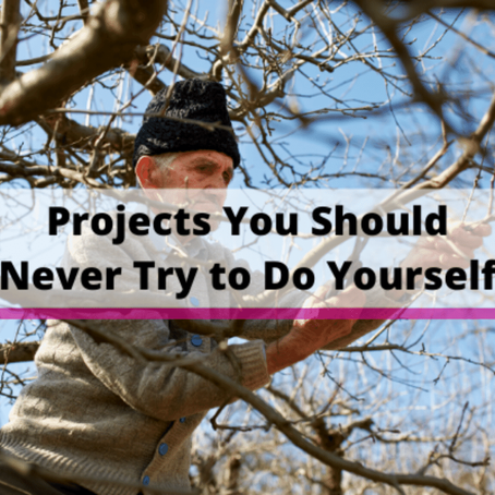 Projects You Should Never Try to Do Yourself