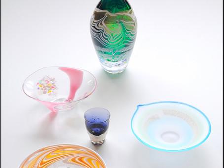 成川美術館 栗原瑠璃華吹きガラス展