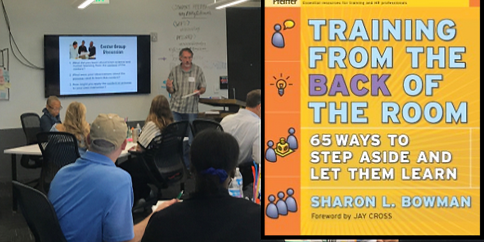Training from the Back of the Room (Dallas)